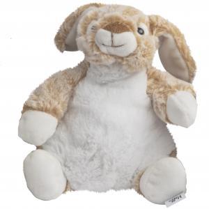 Kanin Milli (grå/brun), 21cm - Molli Toys | GetaTeddy.dk