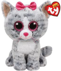 Beanie Boos Kiki (Grå Kat) - TY Bamser