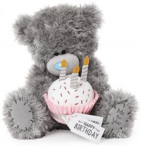 Bamse med fødselsdagskage, 30cm - Me To You