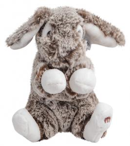 Kanin Luna, Mørkebrun, 16cm fra Molli Toys, GetaTeddy.dk