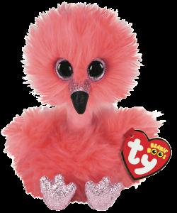 Beanie Boos Franny (Flamingo) - TY Bamser