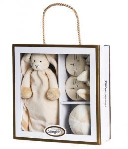 Diinglisar Gavesæt Kanin - Teddykompaniet
