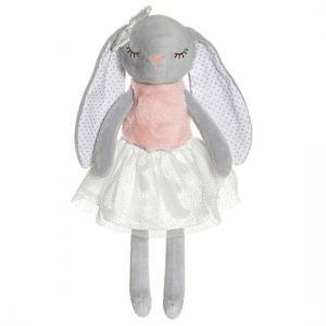 Ballerinas, Kaninen Kelly (grå) - Teddykompaniet