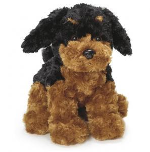 Teddy Dogs, Sort/Brun, 25cm - Teddykompaniet