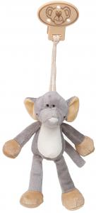 Diinglisar vedhæng, Elefant - Teddykompaniet