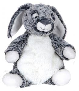 Kanin Melvin (grå), 21cm - Molli Toys| GetaTeddy.dk
