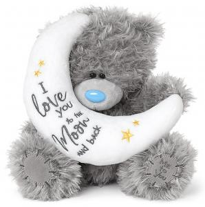Bamse, Love you to the moon, 20cm - Me to you
