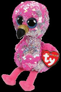 Flippables Pinky (Flamingo) - TY Bamser