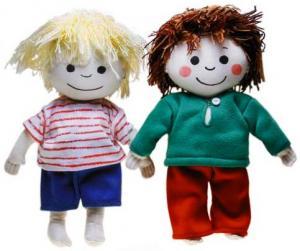 Emma (Totte & Emma) (blød dukke)
