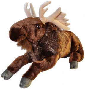 Jumbo elg, Stor elg, 76cm - Wild Republic | GetaTeddy.dk