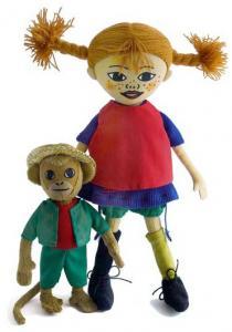 Pippi Langstrømpe & hr. Nilsson