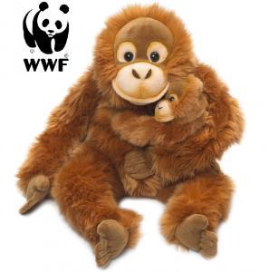 Orangutang med baby - WWF (Verdensnaturfonden)