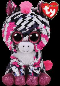 Flippables Zoey (Zebra) - TY Bamser
