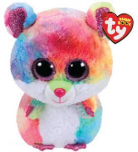 Beanie Boos Rodney (Flerfarvet Hamstere) - TY Bamser