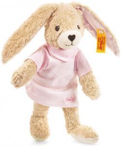 Hoppel Kanin, lyserød (økologisk), 20cm - Steiff