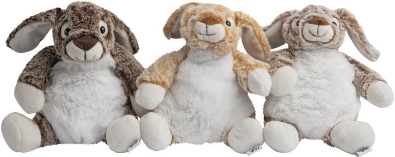 Kanin stor (21cm) - Molli Toys (Mørkebrun)
