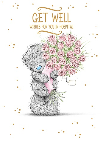 Kort, Get Well wishes for you on hospital - Me To You