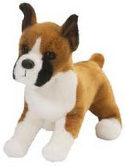 Boxer (beskåret ører) - Douglas tøjdyr