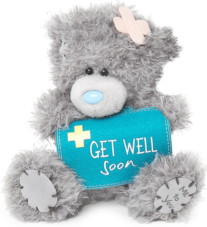 Bamse, Get well soon, 13cm - Me to you