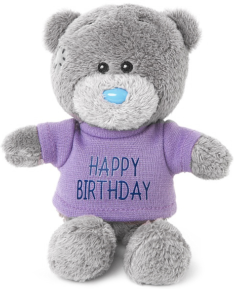 Bamse Happy Birthday, 10cm - Me to you