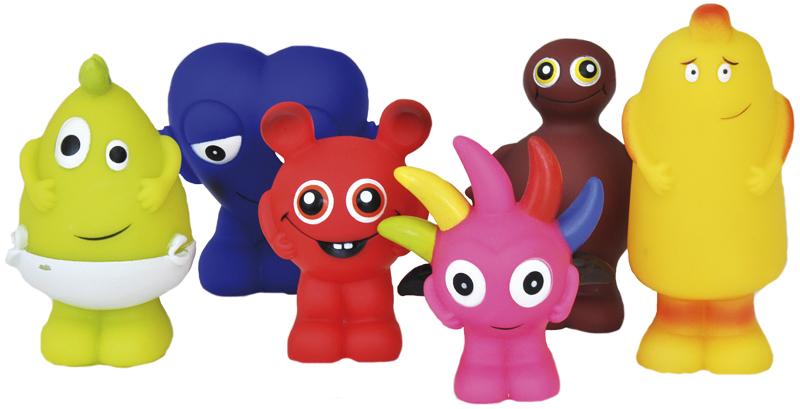 Babblarna plastic figurer - Teddykompaniet