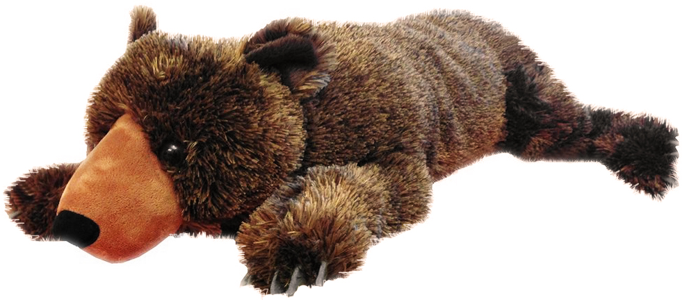 Jumbo brunbjørn, 76cm - Wild Republic