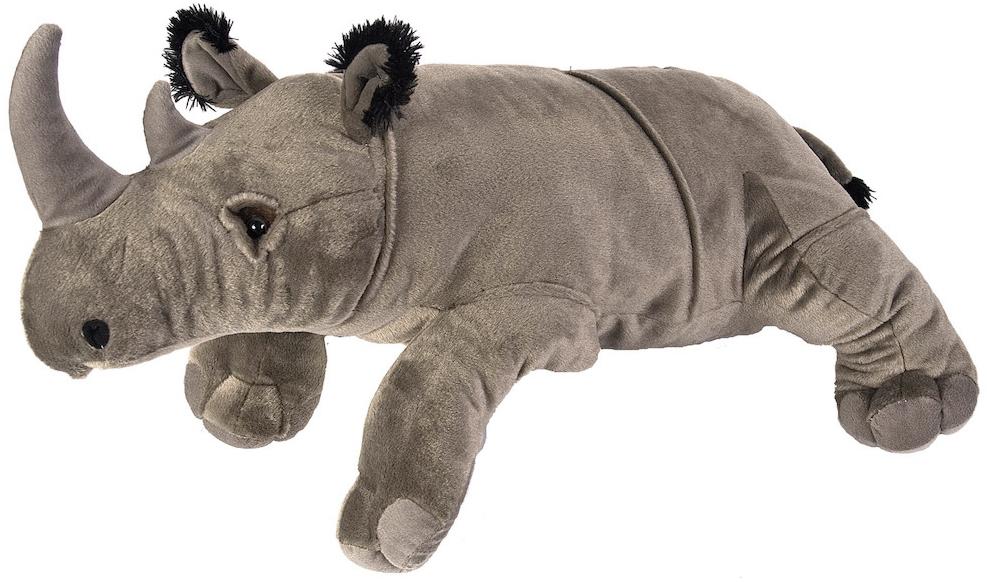 Jumbo Næsehorn, 76cm - Wild Republic