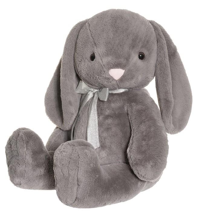 Kanin Olivia (grå), 85cm - Teddykompaniet