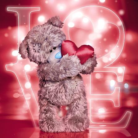 3D-Kort, Bamse med hjerte - Me To You