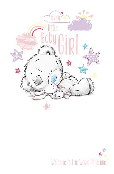 Kort, A Baby girl, hooray - Me To You
