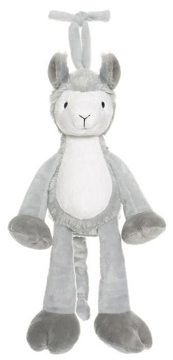 Diinglisar Spilledåse, Lama (pattedyr), 25cm - Teddykompaniet