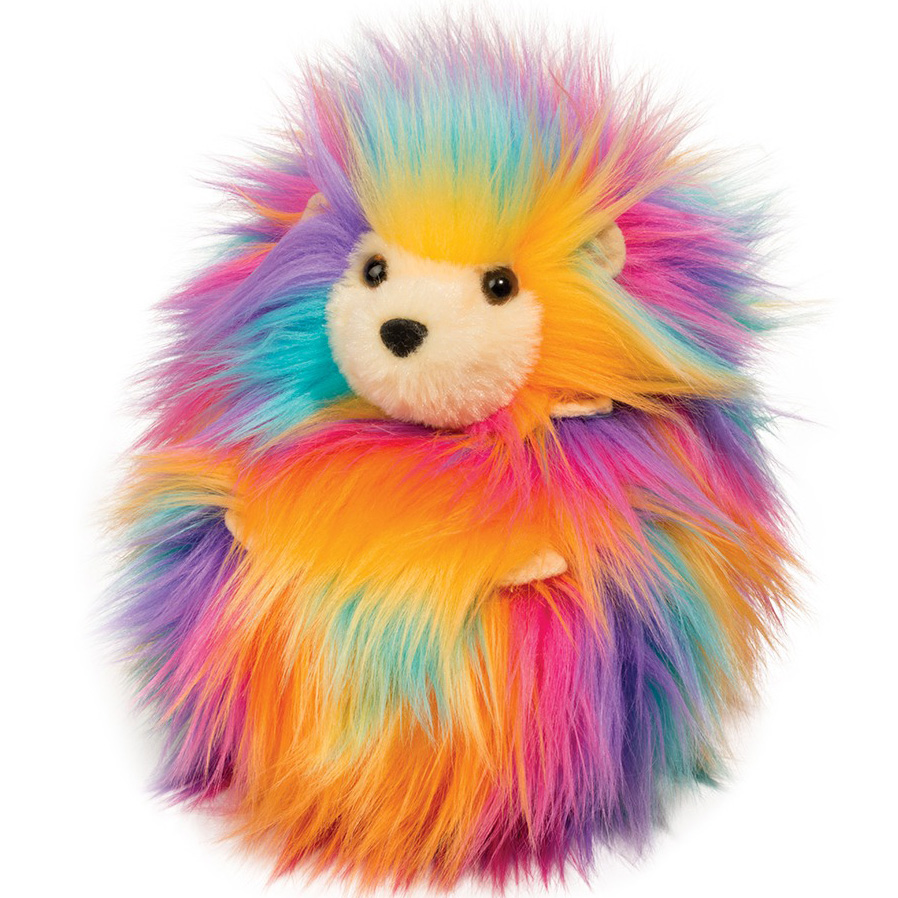 Rainbow Fuzzle Leon (Pindsvin) - Douglas Tøjdyr