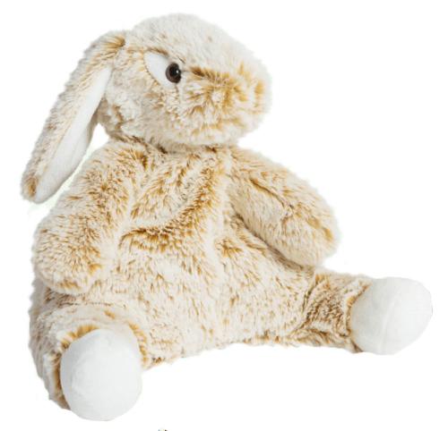 Varmebamse Kanin (stor), 33cm - Molli Toys