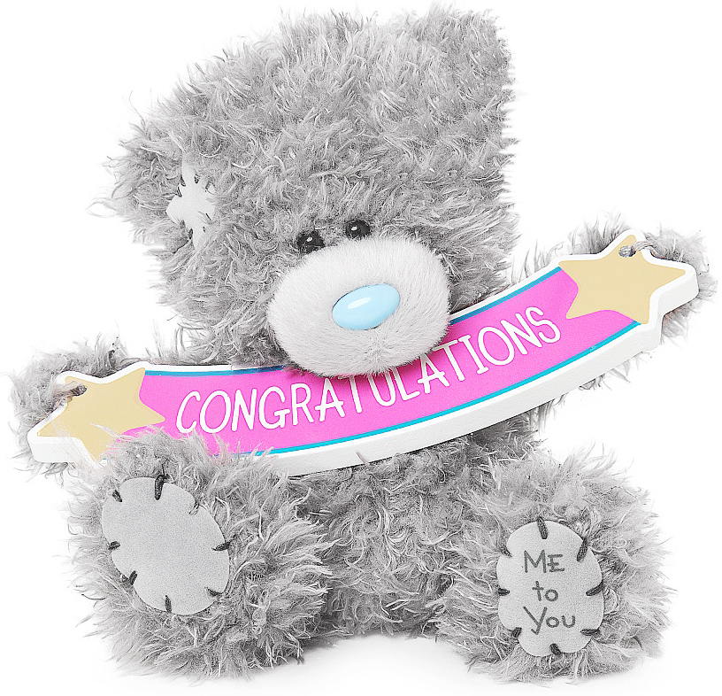 Bamse, Congratulation, 13cm - Me to you