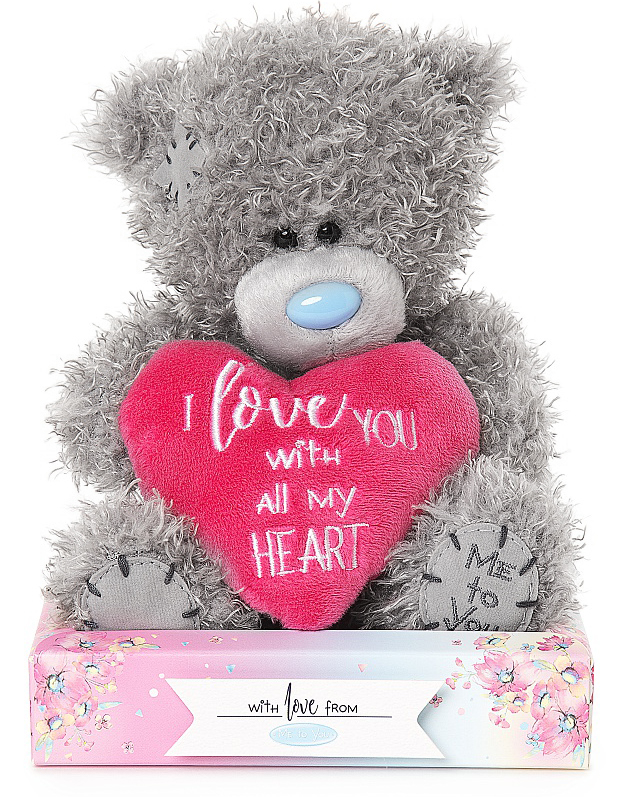 Bamse I love you with all my heart, 15cm - Me To You