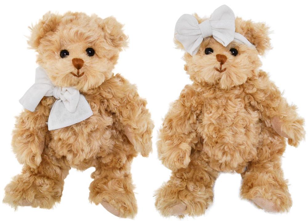 Bamse Little Daniel & Girlfriend, 25cm - Bukowski Design (Little Girlfriend)