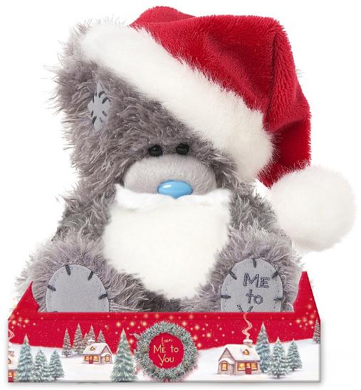 Julebamse med hat og skæg, 15cm - Me To You