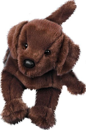 Brun Labrador - Douglas tøjdyr