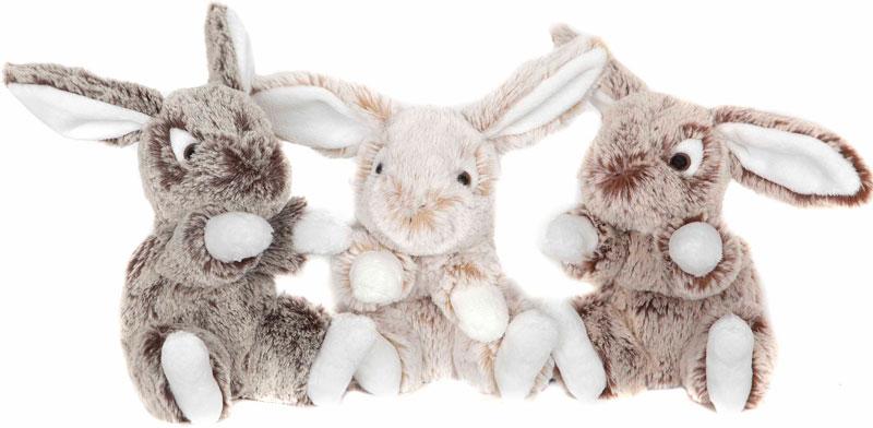 Kanin lille (16cm) - Molli Toys (Mørkebrun)