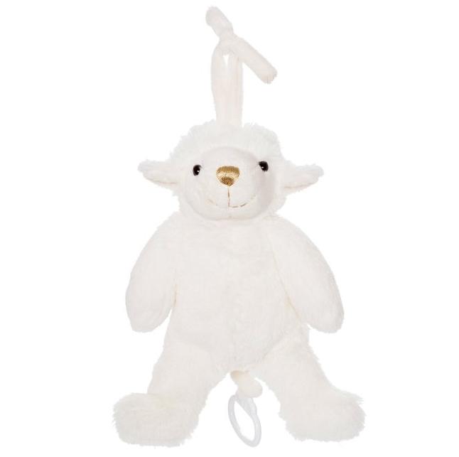 Spilledåse fåre Hampe, 27cm - Teddykompaniet