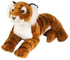 Tiger (liggende), 40cm - Wild Republic
