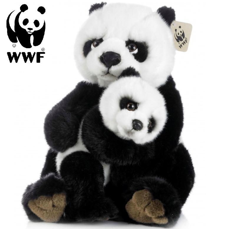 Panda med baby - WWF (Verdensnaturfonden)