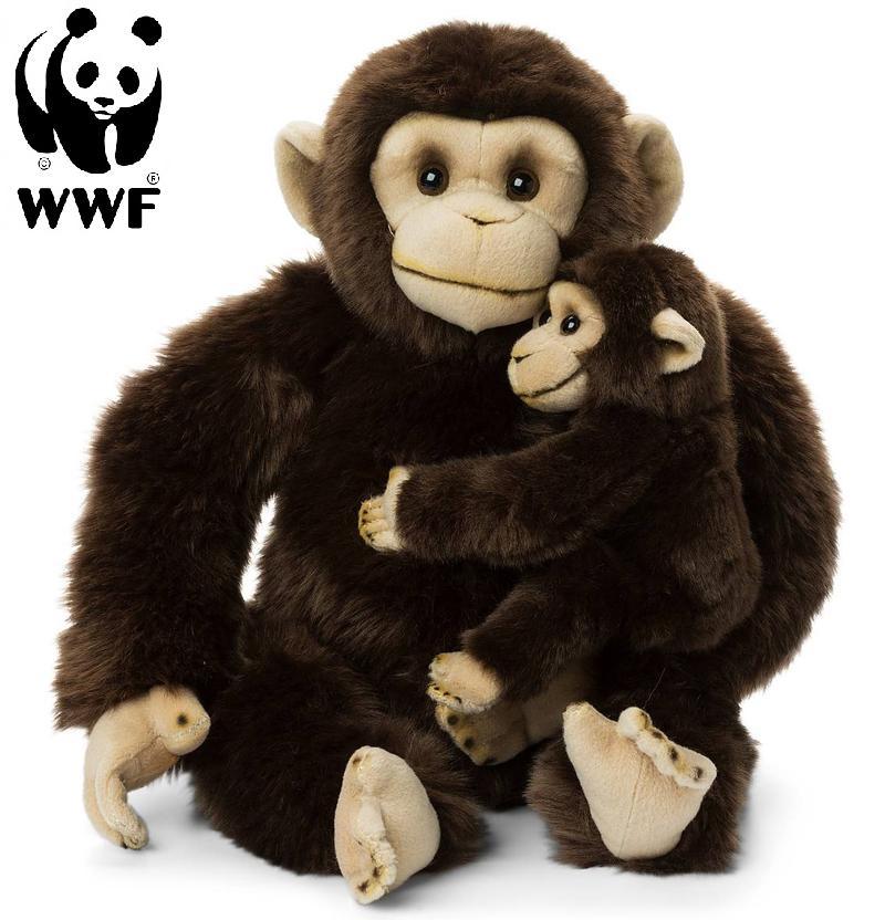 Chimpanse med baby - WWF (Verdensnaturfonden)